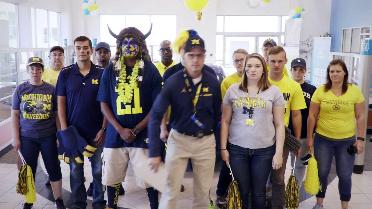 Germain Honda Of Ann Arbor Gets Ready For Michigan Football
