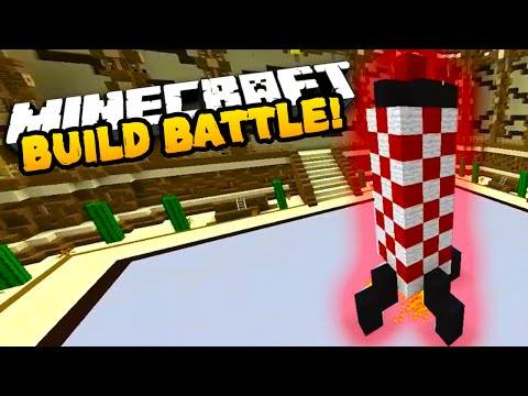 "Minecraft BUILD BATTLE ""MY BEST BUILD EVER!"" #3 w/Preston, Vikkstar & CampingRusher"