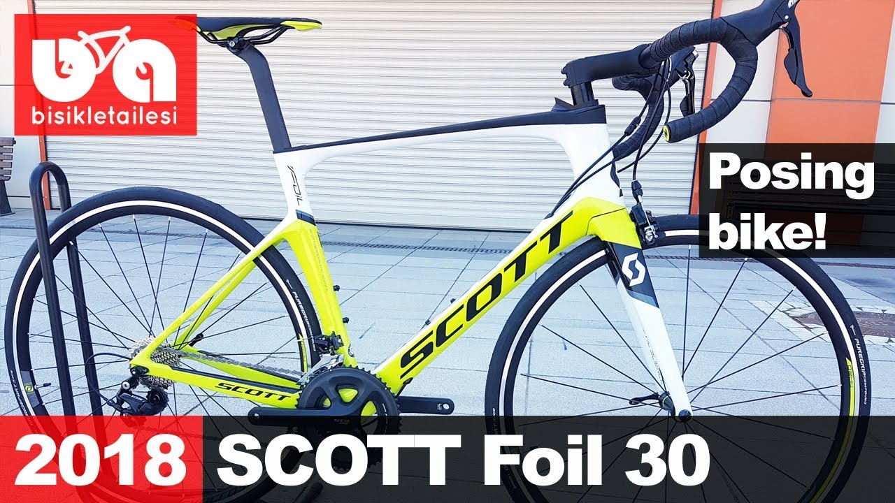 2018 Scott Foil 30 This Bike Knows How To Pose Youtube