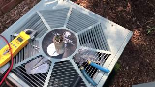 How To Replace Capacitor on Old Rheem AC Unit 10 S.E.E.R.