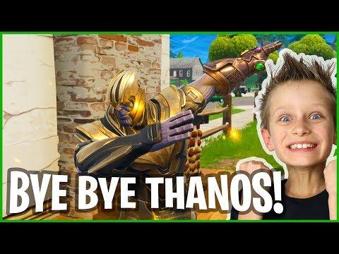 I Killed Thanos With GREEN AR!