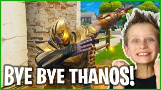 I Killed Thanos With GREEN AR!