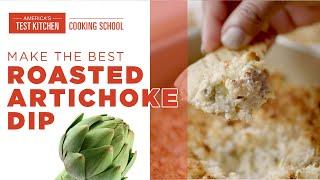 How to Make Creamy Roasted Artichoke Dip