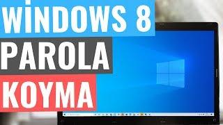 Windows 8 Açılış Parolası Şifre Koyma