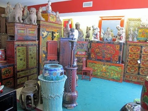 Golden Lotus Antiques store tour 6