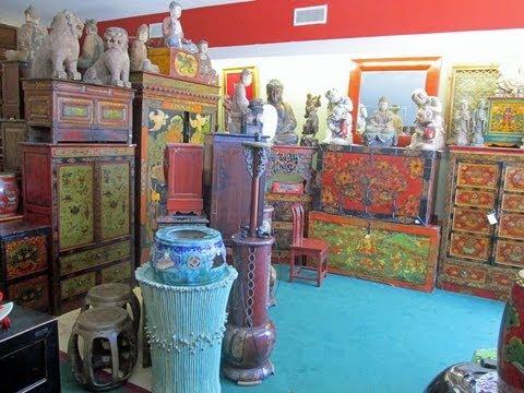 Golden Lotus Antiques store tour 6