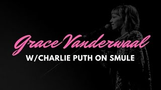 Video Grace Vanderwaal singing 'One Call Away' with Charlie Puth on SMULE download MP3, 3GP, MP4, WEBM, AVI, FLV Juni 2018