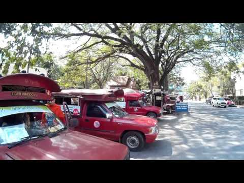 Outside Chiang Mai University Songthaew Red Taxi Terminal to Doi Suthep, Wat Pha Lat