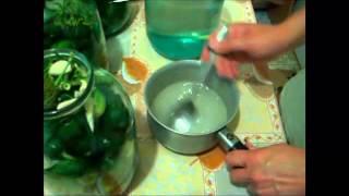 Консервация огурцов без уксуса(Как консервировать огурцы без уксуса, простой и вкусный рецепт заготовки на зиму. Подробнее на сайте http://elenk..., 2012-07-11T18:34:59.000Z)