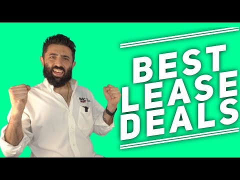BEST LEASE DEALS This Month - September 2020