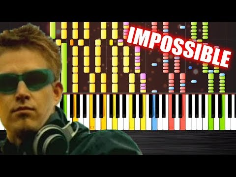Darude  Sandstorm  IMPOSSIBLE REMIX  PlutaX  Synthesia  Piano