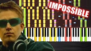 Repeat youtube video Darude - Sandstorm - IMPOSSIBLE REMIX by PlutaX - Synthesia - Piano