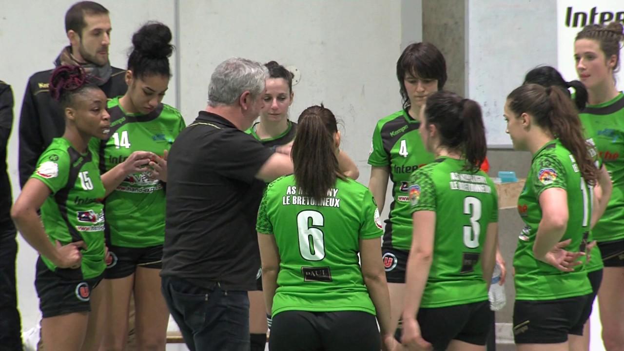 Handball : Contre-performance de Montigny-le-Bretonneux contre le PSG