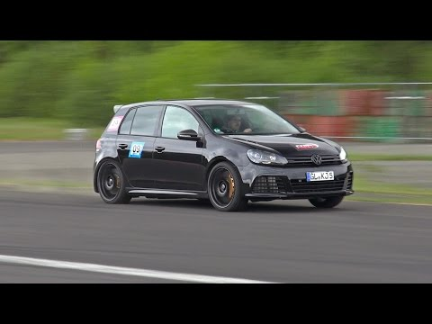 This 800HP VW Golf 6 R 3.6 HGP Biturbo Is A Supercar Killer!