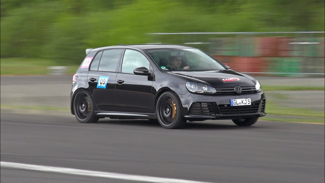 This 800HP VW Golf 6 R 3.6 HGP Biturbo is a supercar killer! - YouTube