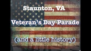 Veteran's Day Parade (and a little history)