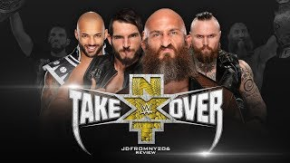 WWE NXT Takeover Phoenix Full Show Review & Results: JOHNNY GARGANO VS RICOCHET 5 STAR CLASSIC!