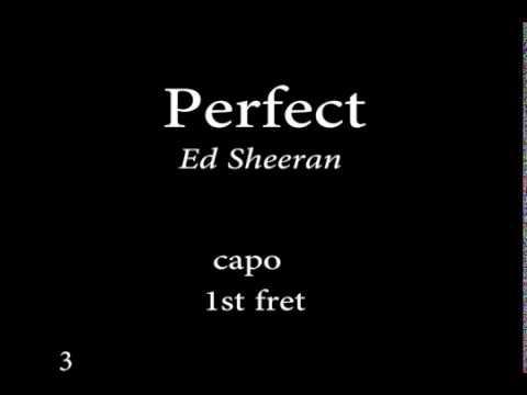 Perfect By  Ed Sheeran Easy Chords And Lyrics