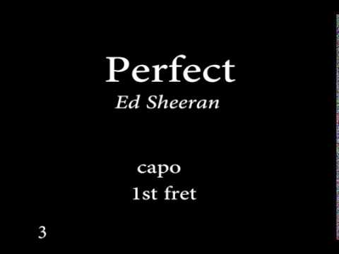 Perfect byEd sheeran Easy Chords and Lyrics