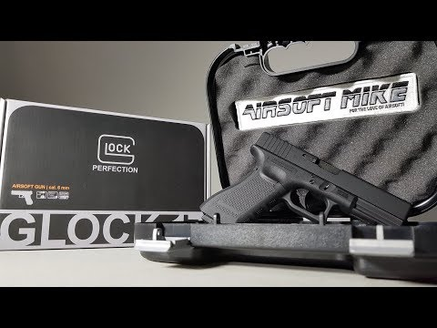 OFFICIALLY LICENSED AIRSOFT GLOCK 17 / Unboxing / Review / Umarex / Elite Force