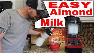 How to make Homemade Vanilla Almond Milk...and Homemade Vanilla