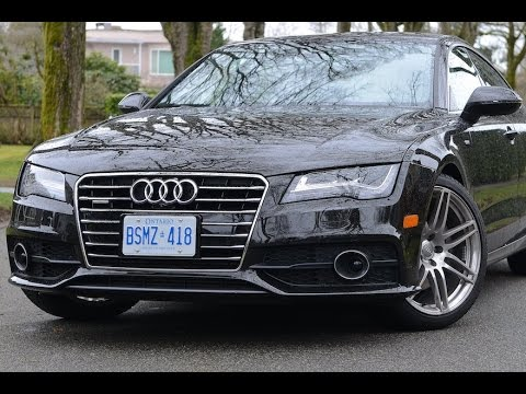 2015 Audi A7 Review My Car Youtube