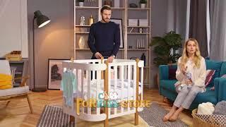 видео Купить стульчик для кормления Geuther - комфорт и безопасность вашего малыша