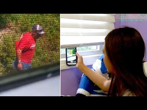 12-летняя девочка видит это из своего окна, делает фото и звонит в 911. Она становится героем!