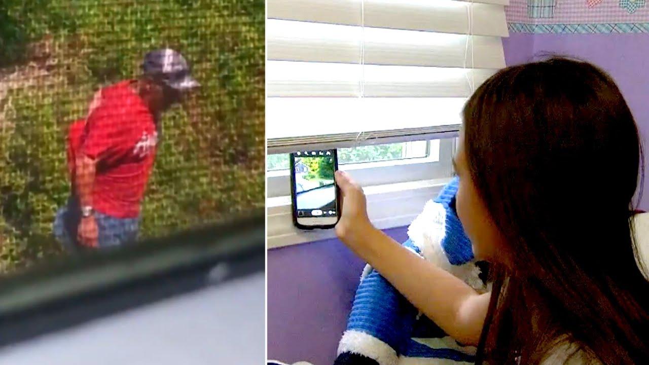12-летняя девочка видит это из своего окна, делает фото и ...
