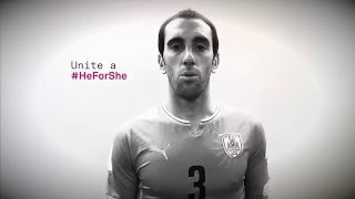 ONU Mujeres Uruguay y la AUF junto a Diego Godín te invitan a sumarte al compromiso HeForShe