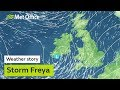 Storm Freya later this weekend 01/03/19