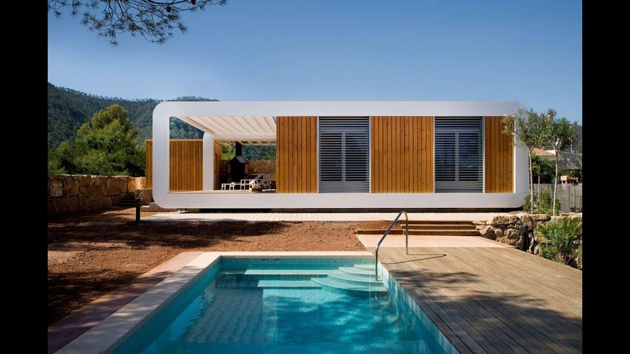 Dise o de peque a casa ecol gica planos youtube for Planos casas pequenas modernas