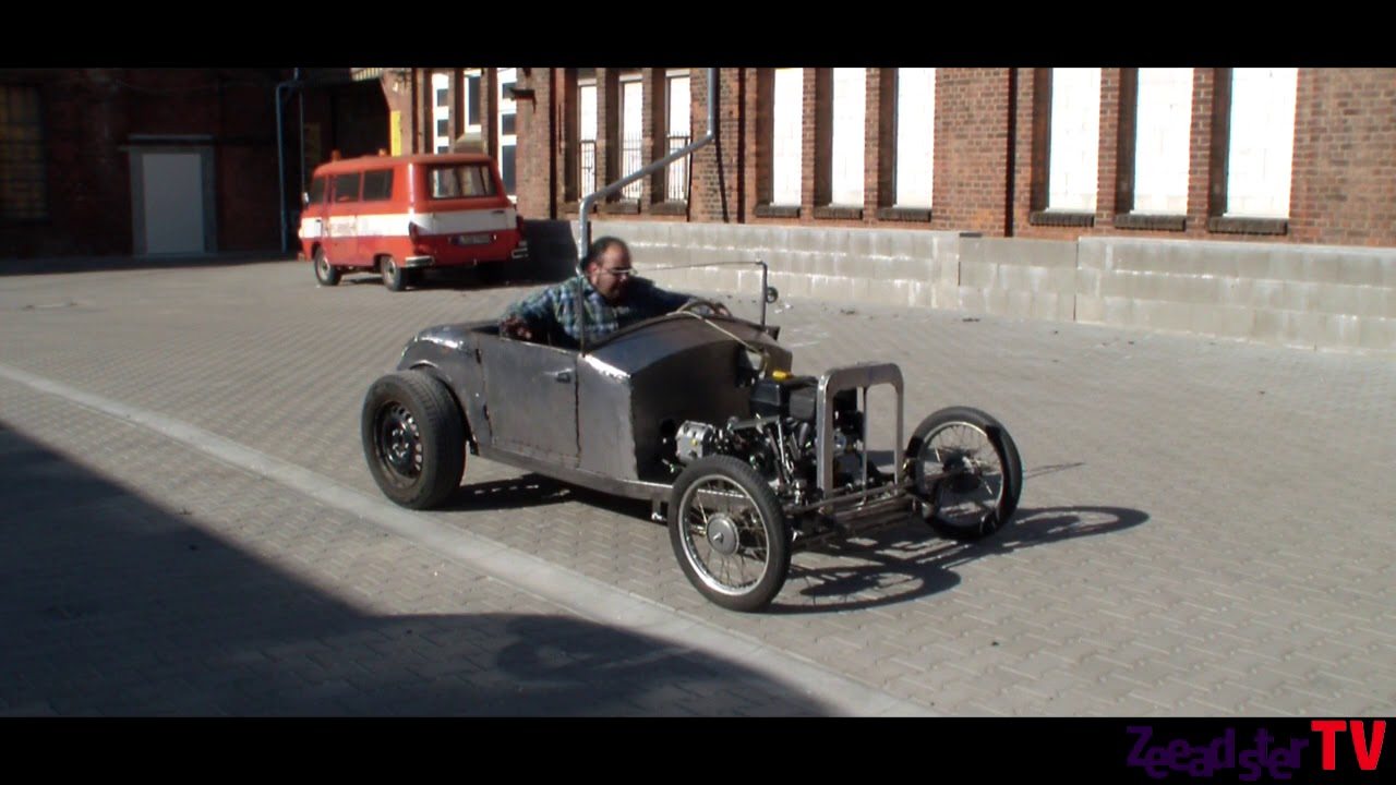 Diy Hot Rod Kart Clutch Suspension Test Drive Youtube