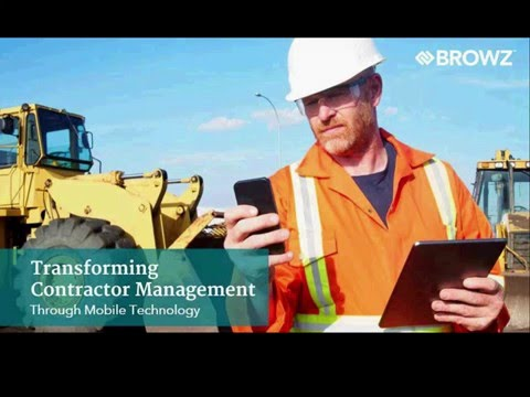 Transforming Contractor Management Through Mobile Technology