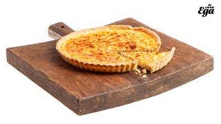Киш лорен. Рецепт французского пирога