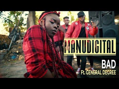 MANUDIGITAL Ft. General Degree - Bad (Official Music Video)