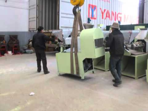 delivery screw oil press machine type 100 to Sudan use CIQ certificate