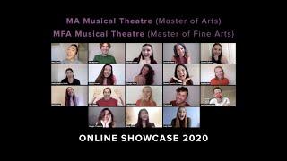 GSA MA/MFA Musical Theatre Virtual Showcase Graduates 2020