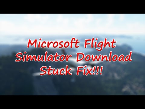 Microsoft Flight Simulator Stuck downloading 3.68GiB Fix!!!!