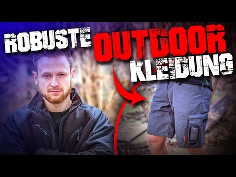 ROBUSTE Outdoor Kleidung - Jobman Workwear - Outdoor Survival Bushcraft Camping Deutschland Deutsch