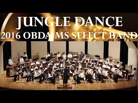 Jungle Dance | 2016 OBDA Middle School Select Band | MultiCam