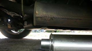 quick muffler repair i used FIREBLOCK on muffler