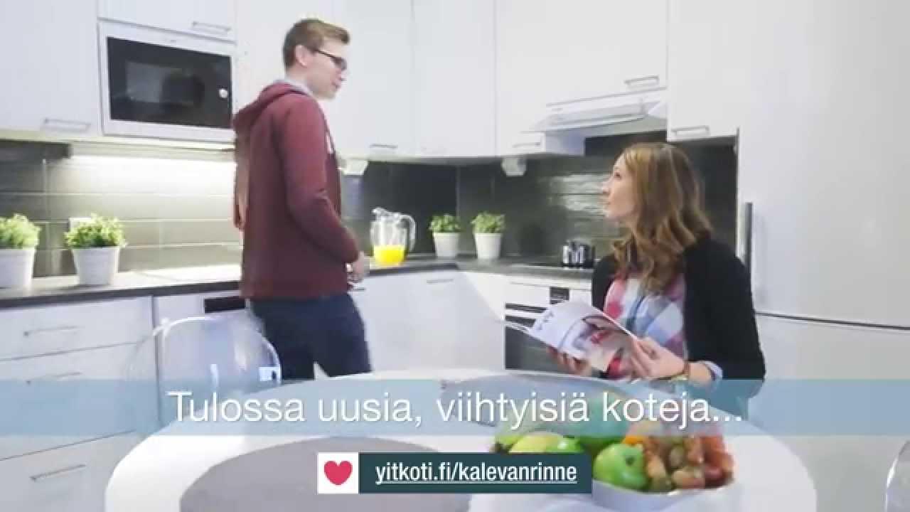 Tampereen Kalevanrinteen uudet asunnot - YouTube