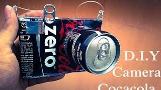 Video DIY - How To Make Camera Using Coca Cans - Reuse Crafts download MP3, 3GP, MP4, WEBM, AVI, FLV Maret 2018