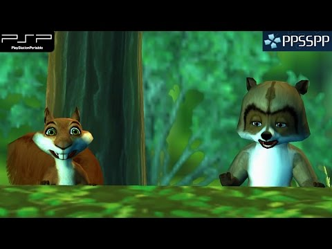 Over The Hedge - PSP Gameplay 1080p (PPSSPP)