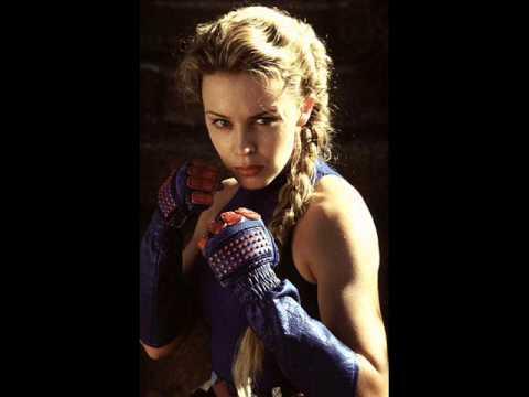 Kylie minogue street fighter cammy