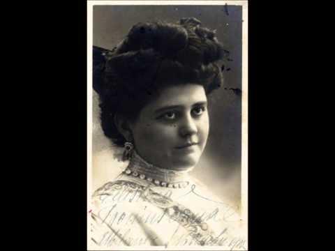 Gounod - Faust - Il m'aime! - Celestina Boninsegna (1908)