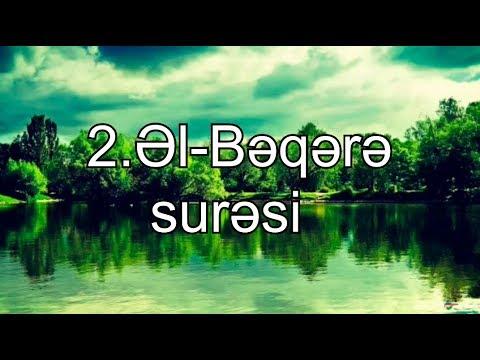 El Beqere suresi Azerbaycanca
