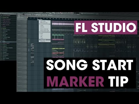 Song Start Marker in FL Studio - Tech Tip