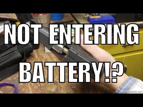 Problem with Taurus PT111 G2 Entering Battery!